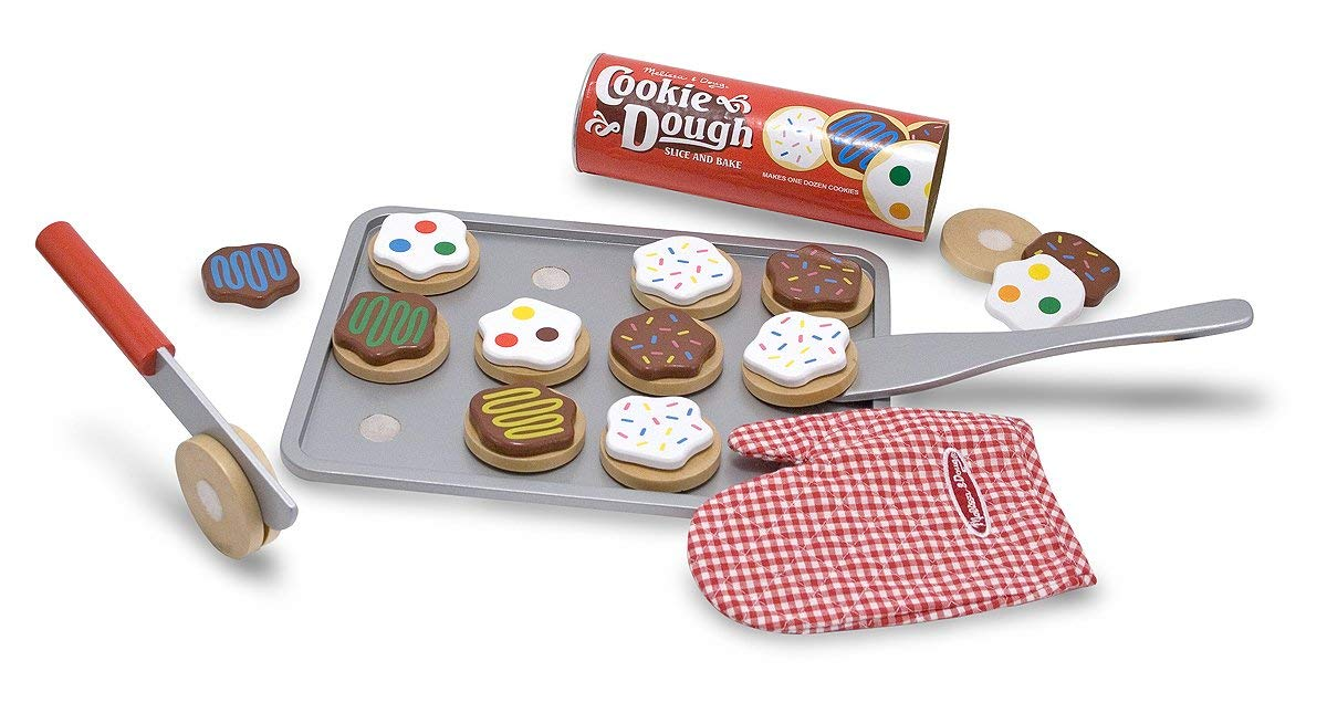 Melissa & Doug Slice & Bake Wooden Cookie Food Playset