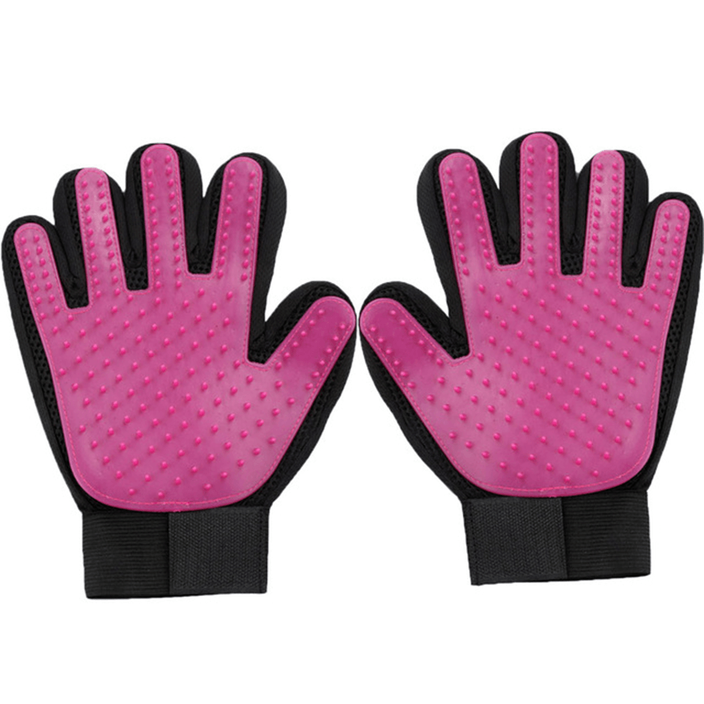 Pet Fur Grooming Comb Glove
