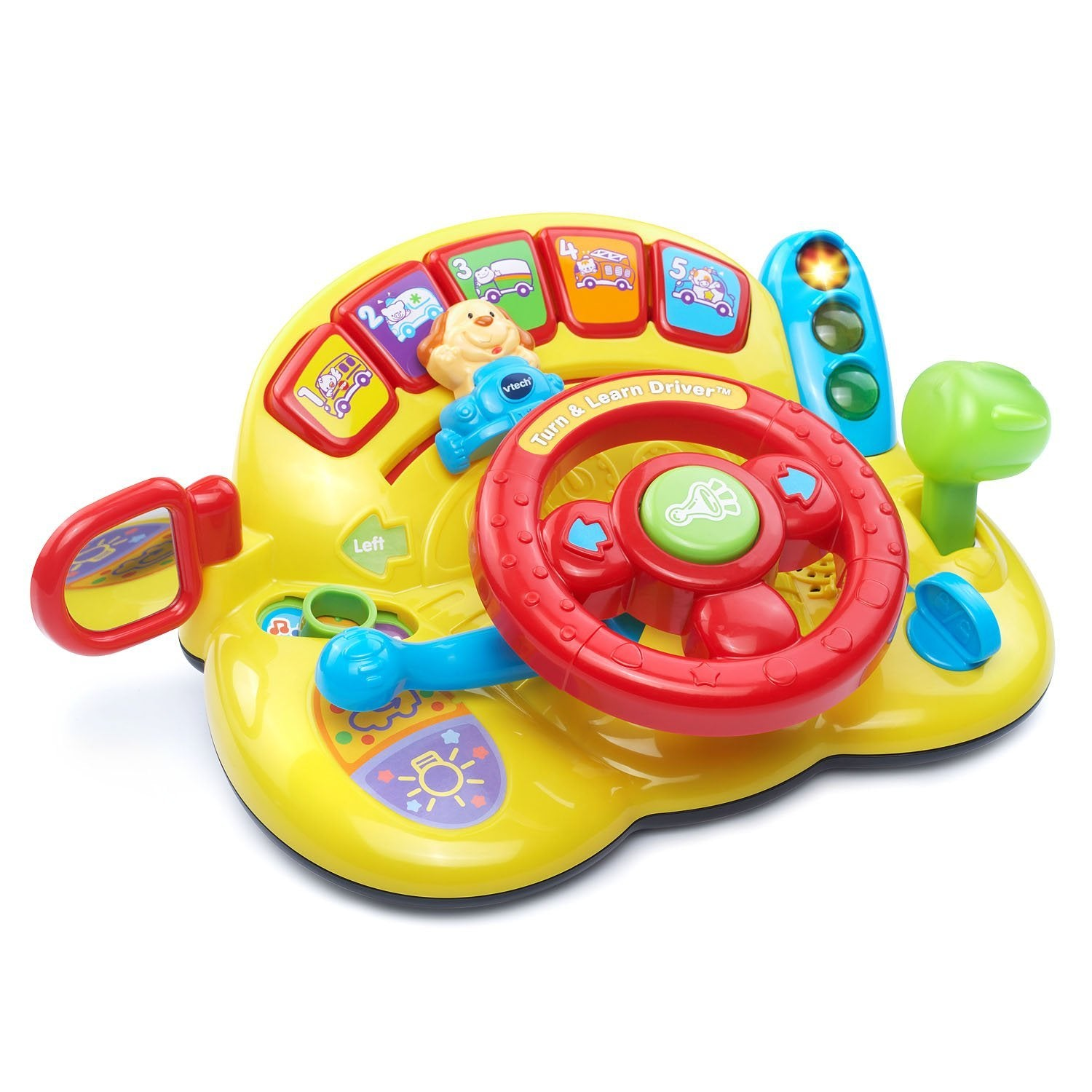 Kids Learn to Drive Toy Steering Wheel