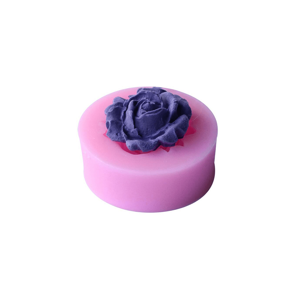 3D DIY Rose Silicone Mold
