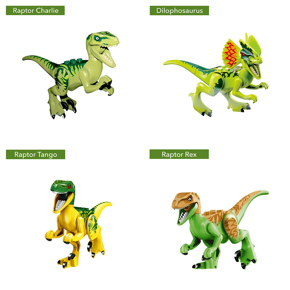 Mighty Collectible Dinosaur Mini Figures For Children