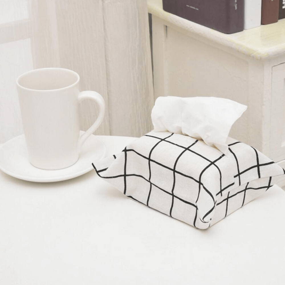 Modern Design Tissue Box Cover