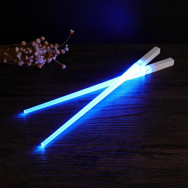 Duel Wielding Lightsaber Chopsticks