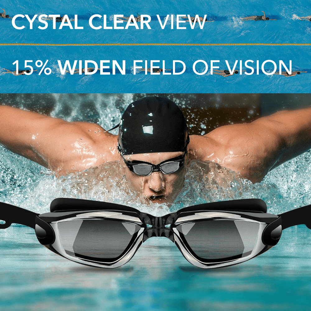 Performance Swimming Goggles — UV Protection & Anti-Fog