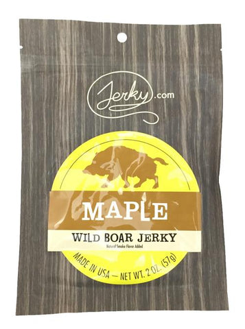 Wild Boar Maple - Jerky.com