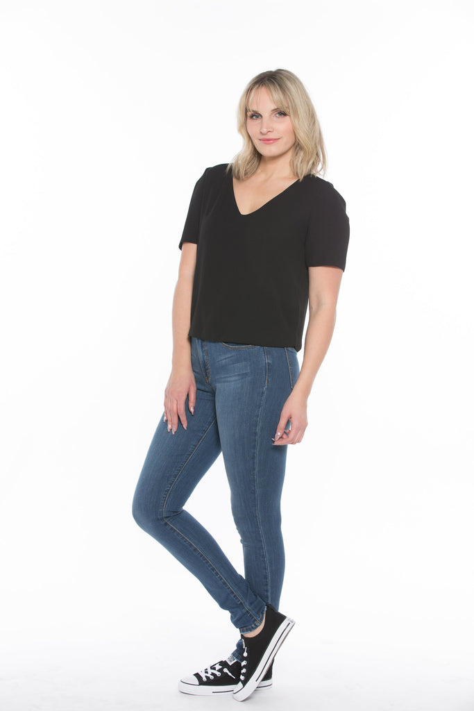 Jeans Lois - Georgia Skinny 2205-6839 Denim - Boutique Vvög
