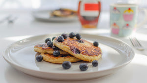 Blueberry & Buttermilk Pancakes