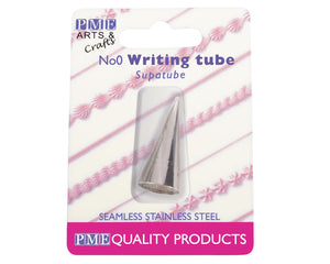 Writing Tube no. 0 -  - SimplyCakeCraft