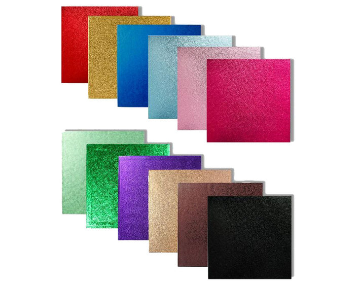 Coloured Square Cake Boards - Range of Colours & Sizes