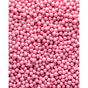 Glimmer Pearls - 7mm Pink - SimplyCakeCraft