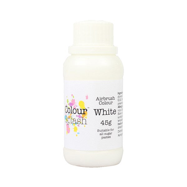 Colour Splash Airbrush Colours White 45g
