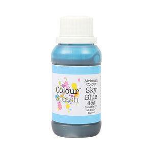 Colour Splash Airbrush Colours- Sky Blue 45g - SimplyCakeCraft