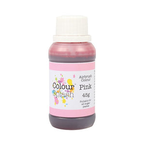 Colour Splash Airbrush Colours Pink 45g - SimplyCakeCraft