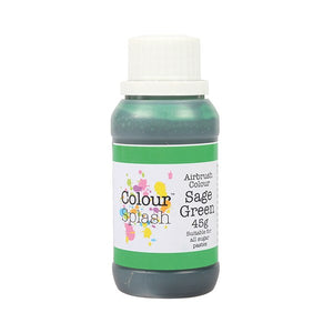 Colour Splash Airbrush Colours Sage Green 45g - SimplyCakeCraft