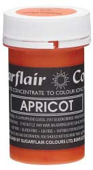 Apricot Concentrated Pastel Colour Paste 25g -  - SimplyCakeCraft