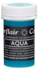 Aqua Concentrated Pastel Colour Paste 25g - SimplyCakeCraft