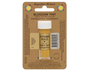 Sugarflair Edible Blossom Tint - Autumn Gold - SimplyCakeCraft
