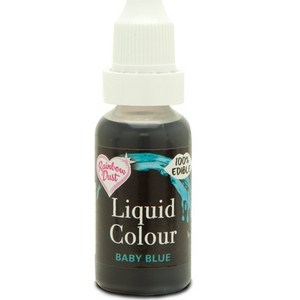 RainbowDust - Baby Blue - Liquid Colour 16ml - SimplyCakeCraft