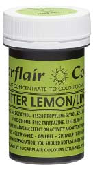 Bitter Lemon/Lime Concentrated Spectral Colour Paste 25g - SimplyCakeCraft