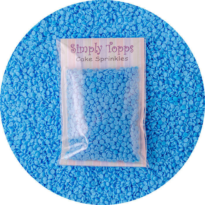 Blue Sugar Confetti Sprinkles