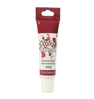 Bordeaux Colour Splash Gel 25g -  - SimplyCakeCraft