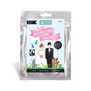 Bow Tie Black Modelling Paste 200g - SimplyCakeCraft