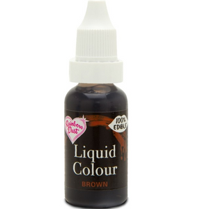 RainbowDust - Brown - Liquid Colour 16ml - SimplyCakeCraft