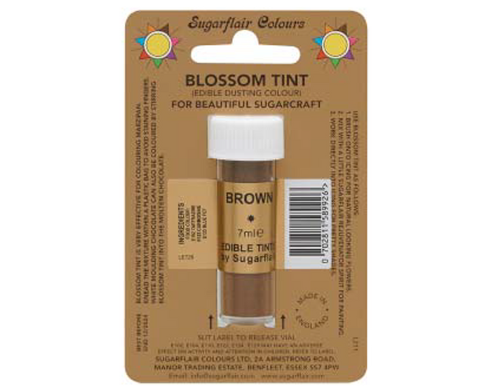 Sugarflair Edible Blossom Tint - Brown