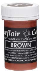 Brown Concentrated Pastel Colour Paste 25g - SimplyCakeCraft