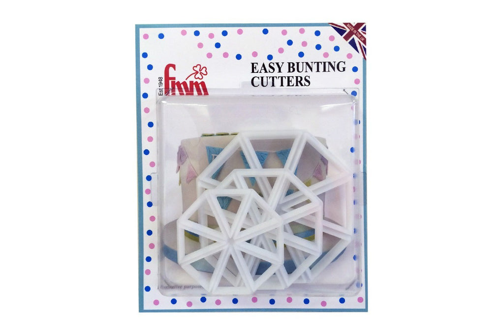 FMM Easy Bunting Cutters Set of 3 - SimplyCakeCraft