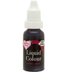 RainbowDust - Burgundy - Liquid Colour 16ml - SimplyCakeCraft