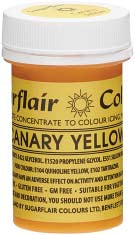 Canary Yellow Concentrated Spectral Colour Paste 25g - SimplyCakeCraft