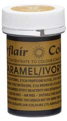 Caramel/Ivory Concentrated Spectral Colour Paste 25g - SimplyCakeCraft