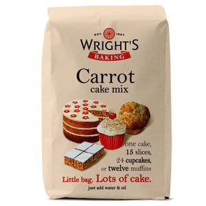 Carrot Cake Mix 500g - SimplyCakeCraft