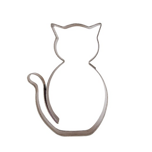 Halloween Cat Stainless Steel Cutter -  - SimplyCakeCraft