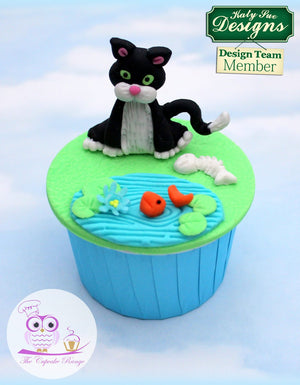 Cat Mould By Katy Sue - SimplyCakeCraft