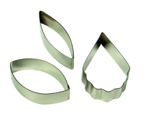 PME Cataleya Orchid Stainless Steel Cutters Set of 3 - SimplyCakeCraft