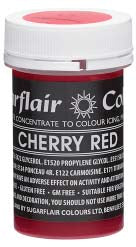 Cherry Red Concentrated Pastel Colour Paste 25g - SimplyCakeCraft