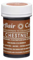 Chestnut Concentrated Spectral Colour Paste 25g - SimplyCakeCraft