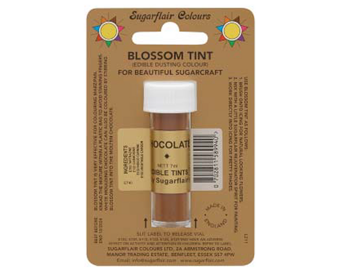 Sugarflair Edible Blossom Tint - Chocolate