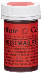 Christmas Red Concentrated Spectral Colour Paste 25g - SimplyCakeCraft