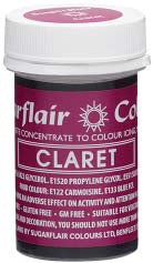 Claret Concentrated Spectral Colour Paste 25g - SimplyCakeCraft