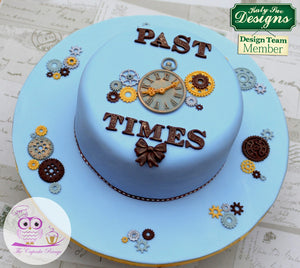 Clock Mould By Katy Sue - SimplyCakeCraft