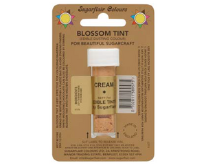 Sugarflair Edible Blossom Tint - Cream - SimplyCakeCraft