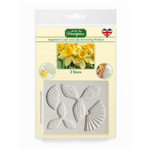 Daffodil Flowers Silicone Mould By Katy Sue - SimplyCakeCraft