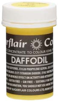 Daffodil Concentrated Pastel Colour Paste 25g