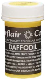 Daffodil Concentrated Pastel Colour Paste 25g - SimplyCakeCraft