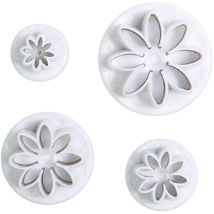 Daisy Plunger Cutter Set of 4 - SimplyCakeCraft