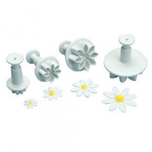 PME  Daisy / Marguerite Plunger Cutter Set of 4 - SimplyCakeCraft