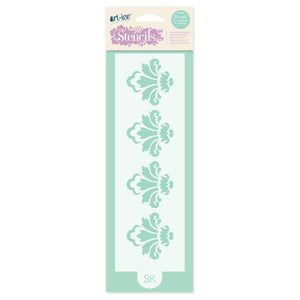 Damask Border Stencil from SK - SimplyCakeCraft
